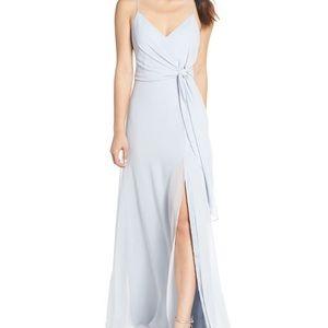 Jenny Yoo Amara Dress In Whisper Blue